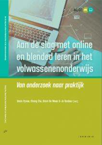 Cover ALO-boek: Aan de slag met online en blended leren in het volwassenenonderwijs - Van onderzoek naar praktijk